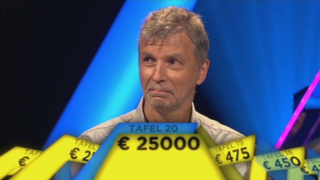 Embargo tot 4.9 om 20.00 u. - Geert Tanghe wordt supercrack en wint 25.000 euro