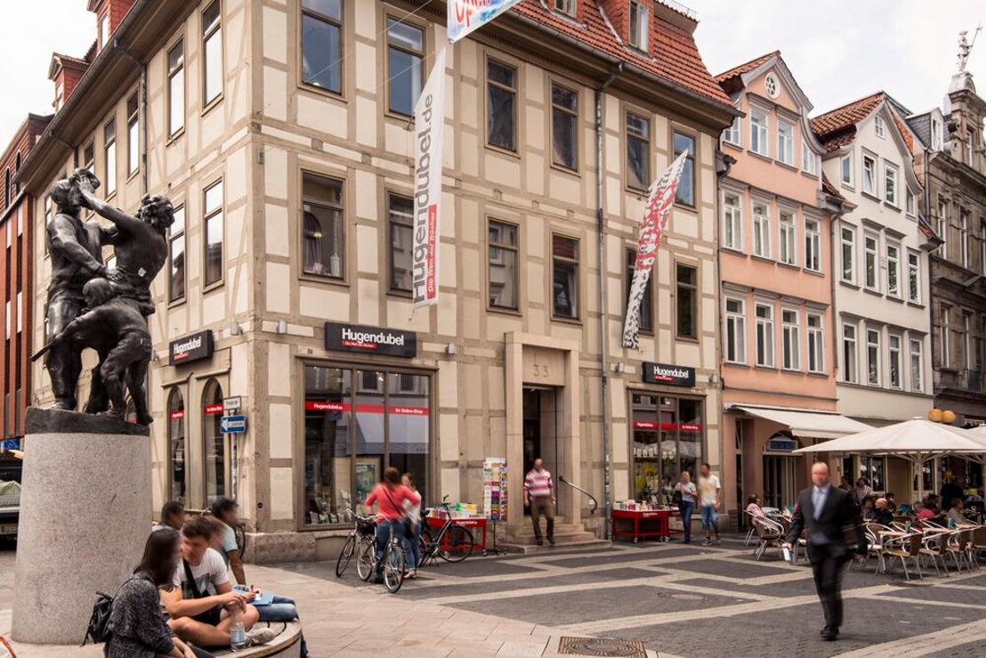Hugendubel bleibt mit einer Filiale in Göttingen