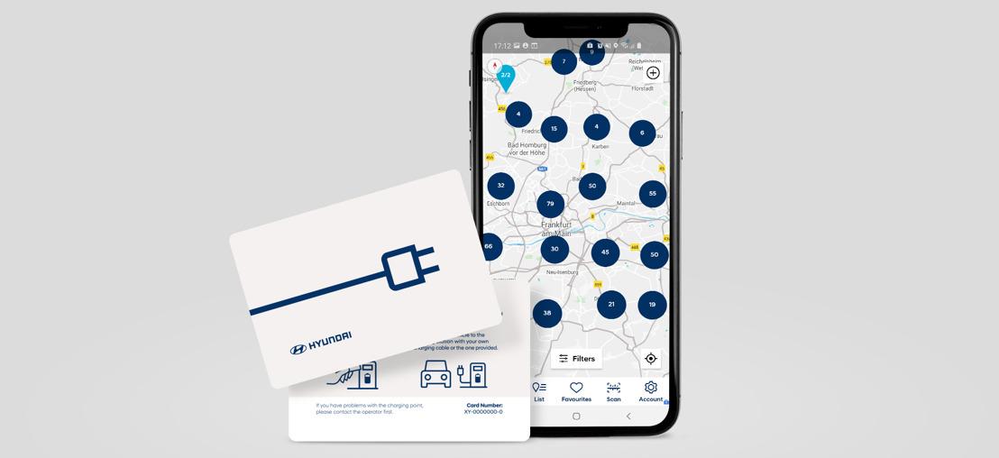 Charge myHyundai: Ce service de recharge, dont le réseau est le plus vaste d'Europe, est introduit également en Suisse!