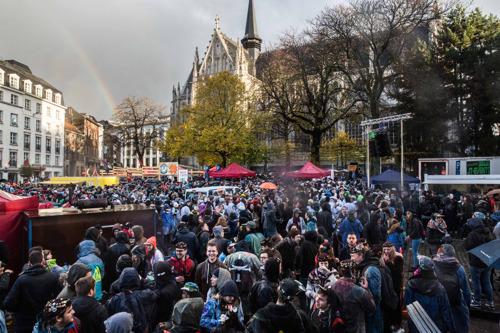 St-V-viering van ULB en VUB op lijst Brussels cultureel erfgoed