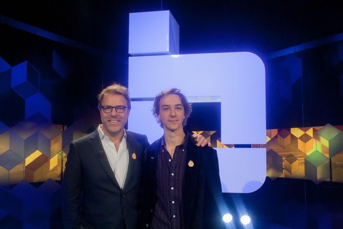 Blokken for life Tom Lenaerts vs. zijn zoon Willem Lenaerts<br/>(c) VRT