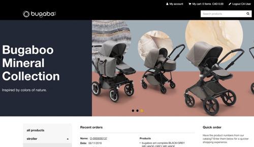 Emakina ontwikkelt nieuwe webshop Bugaboo Business