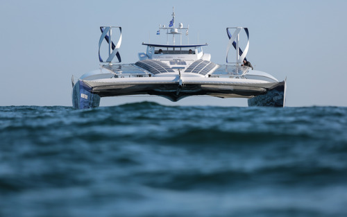 TOYOTA SAILING INTO THE FUTURE WITH ENERGY OBSERVER