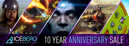 Iceberg Interactive Celebrates 10th Anniversary with Biggest Ever Sale on Steam