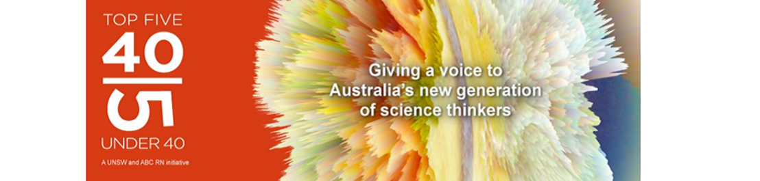 SEARCH FOR AUSTRALIA'S TOP YOUNG SCIENCE TALENT