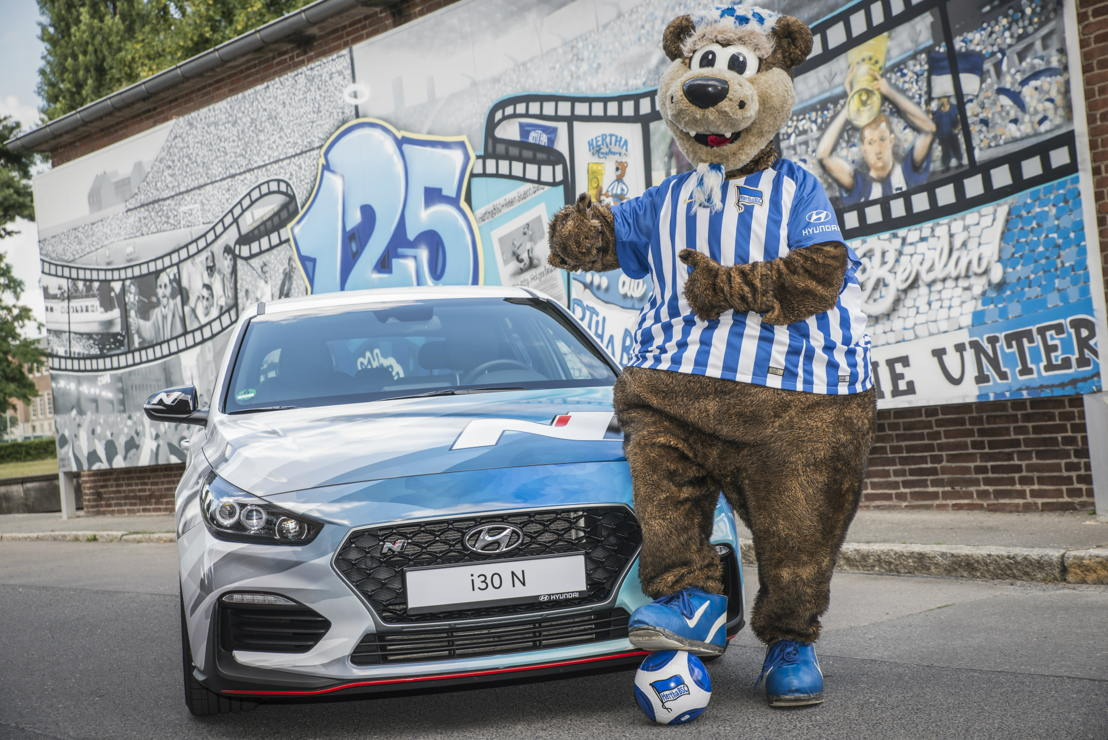 Hyundai Motor becomes Global Automotive Partner of Hertha BSC in new multi-year agreement