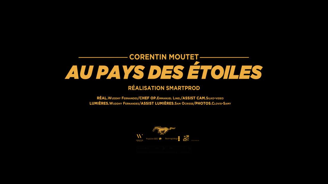 """Corentin Moutet enchaîne avec la sortie de son clip """"Au Pays Des Étoiles"""" !"""