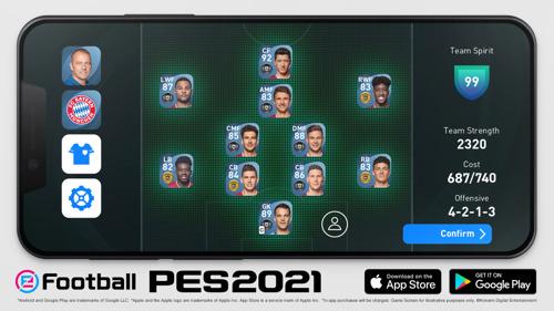 KONAMI VERKÜNDET GLOBALEN LAUNCH VON eFootball PES 2021 MOBILE