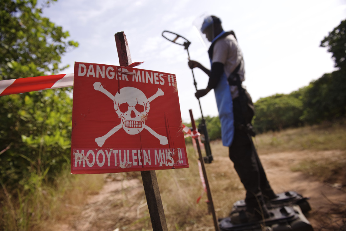 Explosieve wapens vormen een permanente bedreiging voor burgers