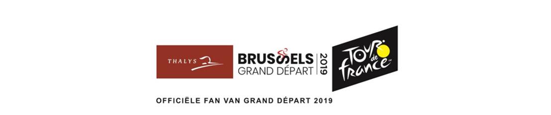 100 dagen voor de 'Grand Départ' vanuit Brussel onthult Thalys een treinstel in de kleuren van de Ronde van Frankrijk