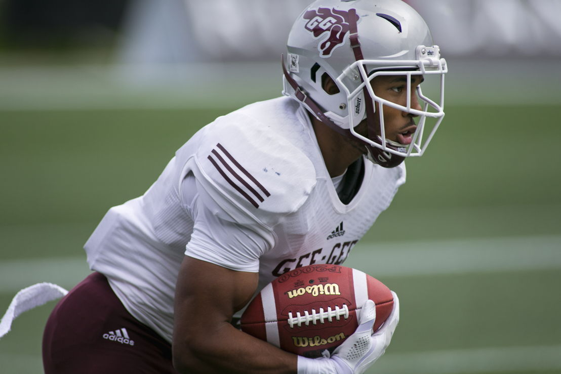 No. 13 DB Jackson Bennett, uOttawa (Photo Credit: University of Ottawa)