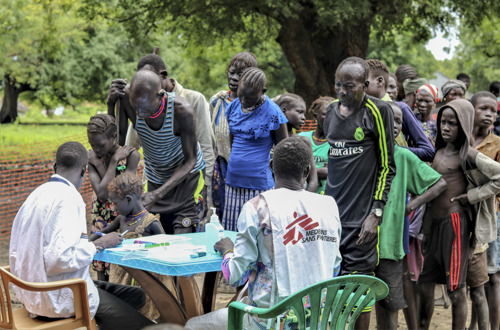 SOUTH SUDAN: Heavy floods threaten the lives of about 500 000 people