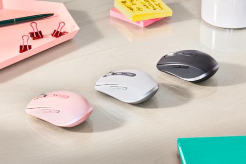 Máximo rendimiento y velocidad en cualquier momento y lugar con el ratón compacto más avanzado de Logitech