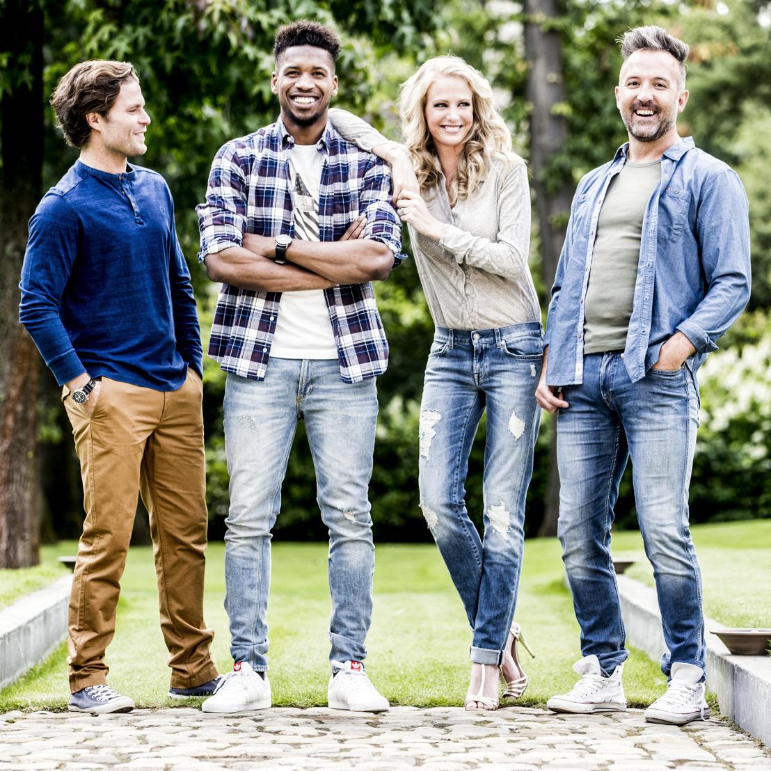 Fotomateriaal: Annelien Coorevits helpt drie mannen tijdens hun liefdeszoektocht