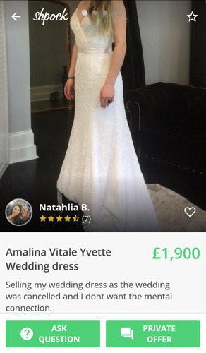 "da46d7ab6 ""Need gone ASAP"" - Brides NOT to be sell their unworn wedding dresses. """