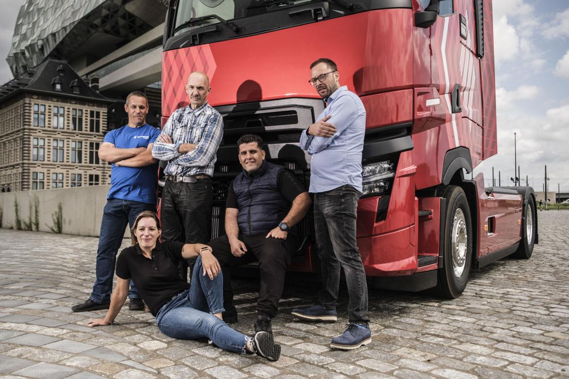 Love2Truck : derde editie meest gepassioneerde vrachtwagenchauffeur van België start op zaterdag 9 oktober