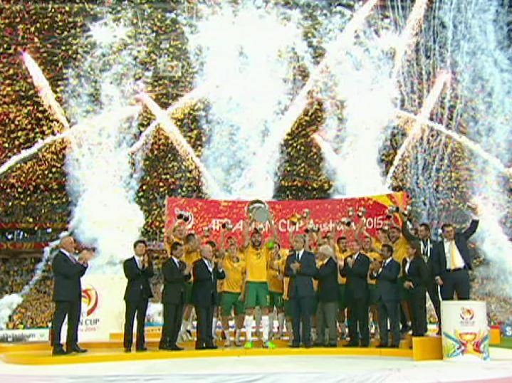 Socceroos win Asian Cup