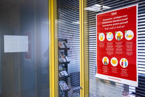Communiqué de presse| Confinement du centre d'accueil de Gand