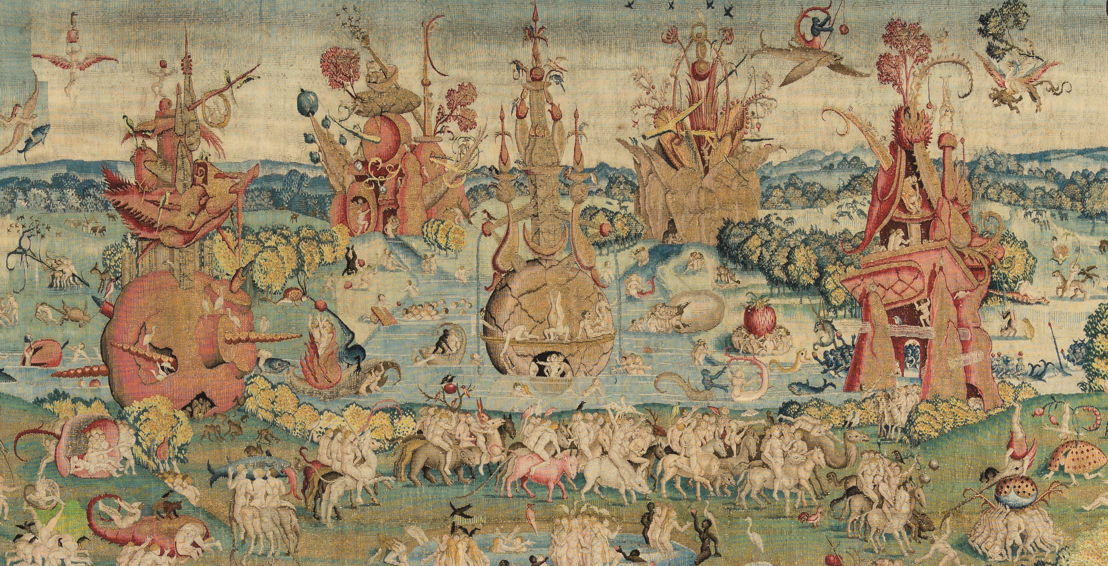 In Search of Utopia © Brussels Master after Hieronymus Bosch, Garden of Earthly Delights, Before 1560, Madrid, Patrimonio Nacional, Real Monasterio de San Lorenzo de El Escorial