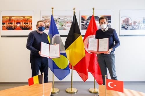 Bruxelles et Istanbul signent un protocole d'accord