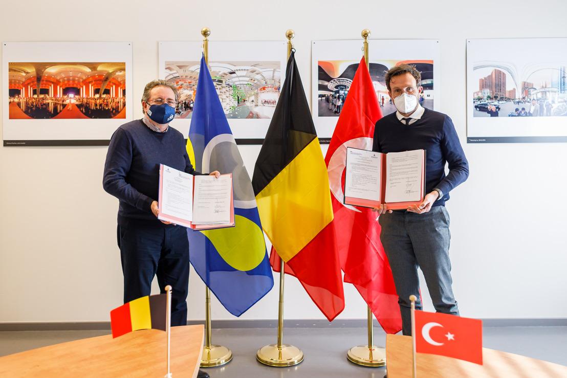 Brussels and Istanbul sign Memorandum of Understanding