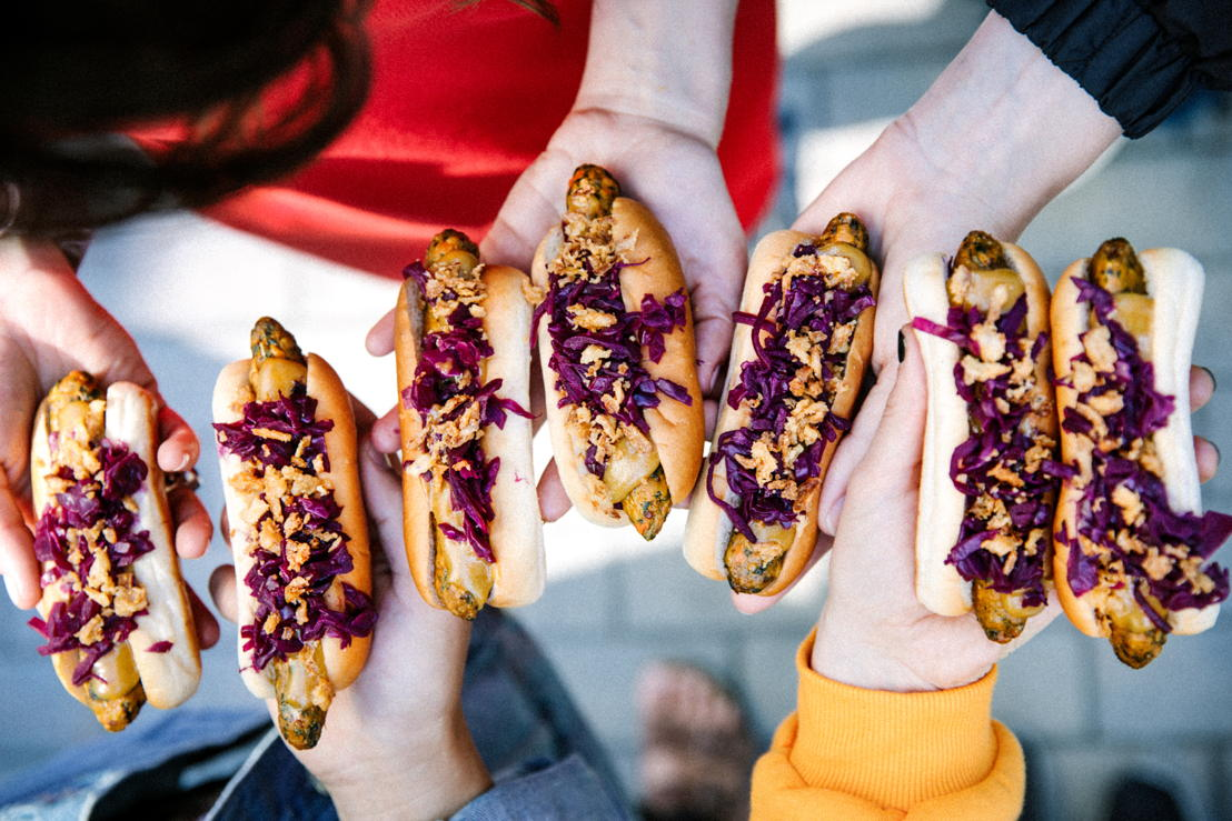 IKEA hot dog veggie