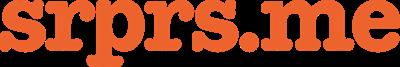 srprs.me press room Logo