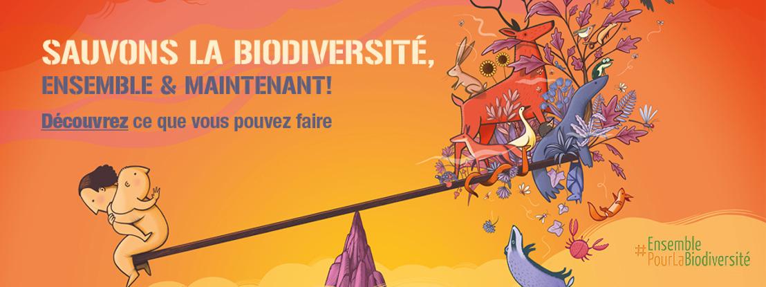 Sauvons la biodiversité, ensemble et maintenant !