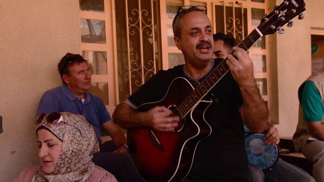 Rudi Vranckx en Nabeel in Mosul - (c) VRT