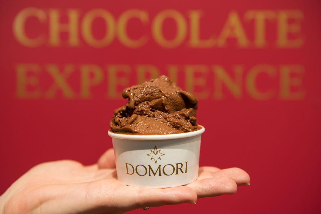 Domori, gelato al cioccolato