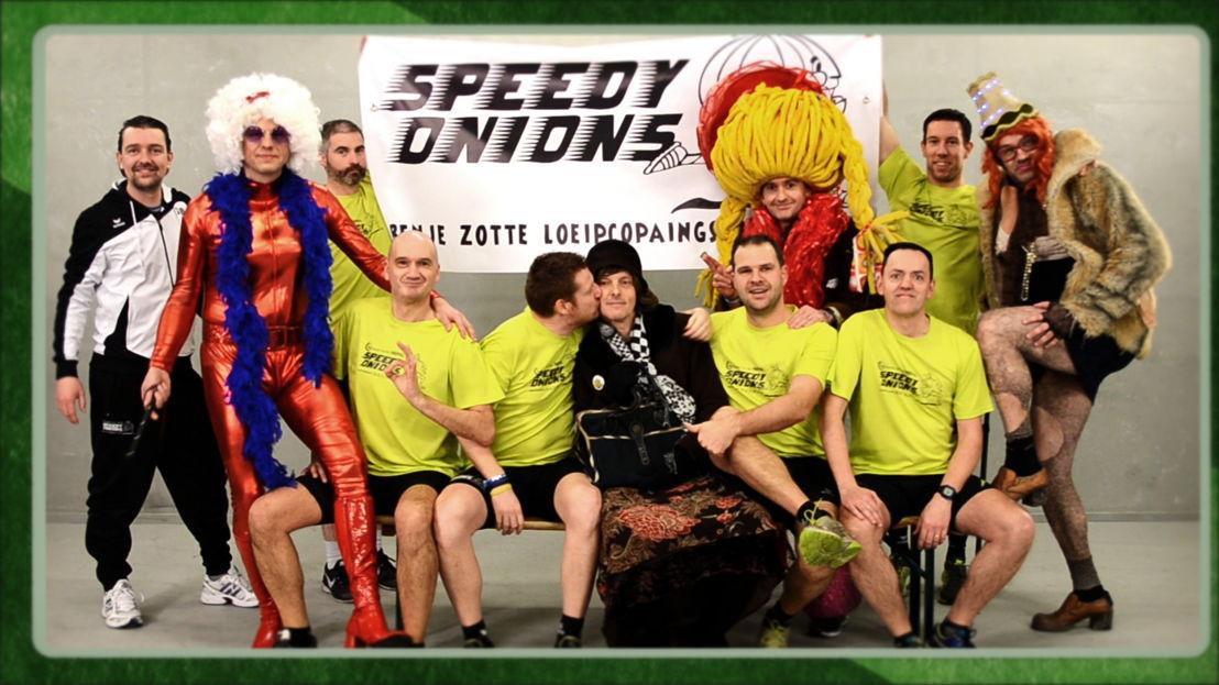 Speedy Onions in tweede halve finale op 13 april (c) VRT