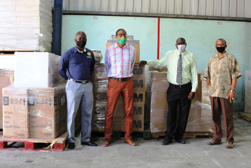 Government of Montserrat Sends Shipment of Emergency Supplies to St. Vincent and the Grenadines