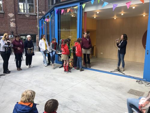 Nieuw lokaal voor Chiro Jijippeke in Molenbeek