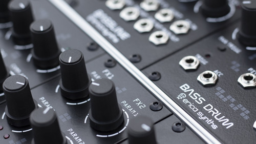 Erica Synths Announces New Drum Series Modules