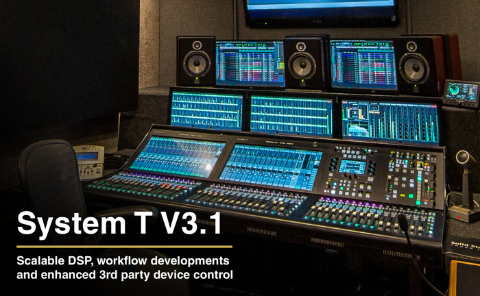 Solid State Logic Add New Engines and Flexible Licensing For System T Broadcast Audio Production