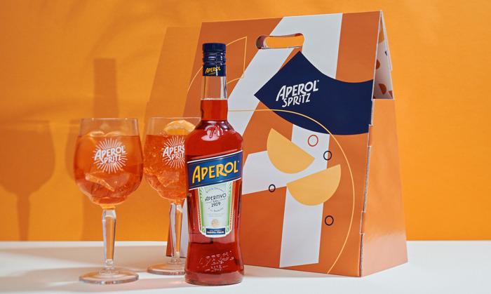 Aperol Spritz stelt aperitiefdozen voor om vrienden en familie mee te verrassen tijdens de feestdagen