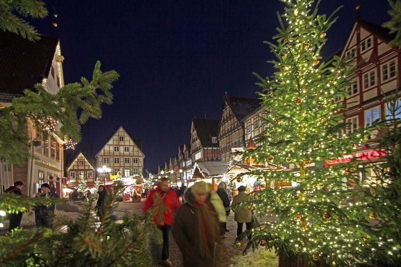 Weihnachtsmarkt Celle c) Celle Tourismus und Marketing GmbH