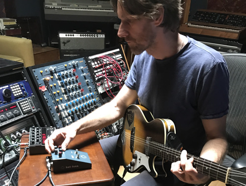 Guitarist Joe Shearer Explores Ambient and Visceral Soundscapes Using the BAE Hot Fuzz Pedal and 1272 Module