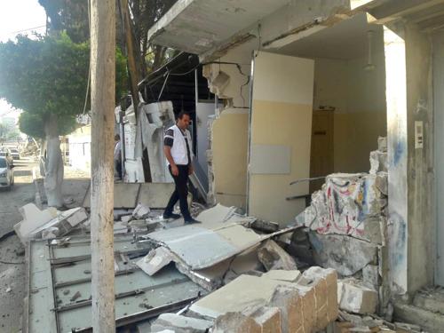 """Gaza: tientallen burgerslachtoffers en zware schade aan AZG-kliniek door """"onvergeeflijke en ontoelaatbare"""" Israëlische luchtaanvallen"""