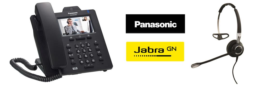 Panasonic y Jabra unen fuerzas para ofrecer soluciones de telecomunicación a mercados verticales
