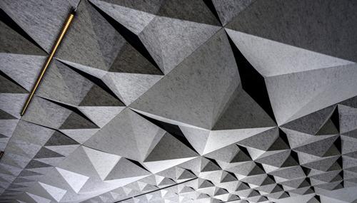 HeartFelt® Origami biedt uitzonderlijk akoestisch en esthetisch resultaat