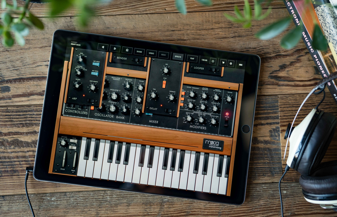 Amid Widespread Cancellations in the Creative Community, Moog Music Offers Minimoog Sound App for Free Download