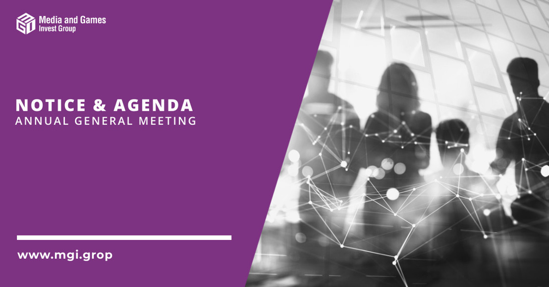 Notice and Agenda of an Annual General Meeting