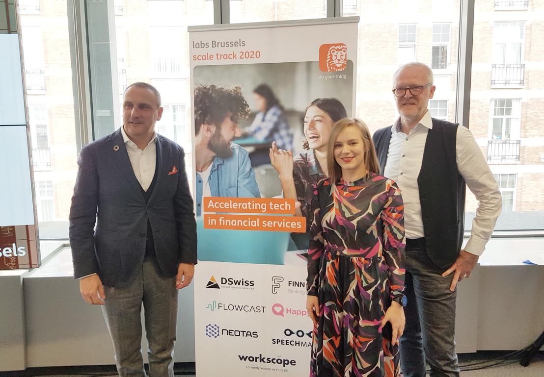 Lancering ING Labs Brussels om scale-ups en interne teams te ondersteunen bij ontwikkeling van fintech-concepten