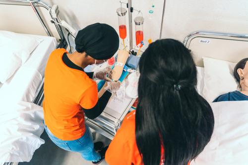 Stagiairs verpleegkunde ingezet bij griepvaccinaties