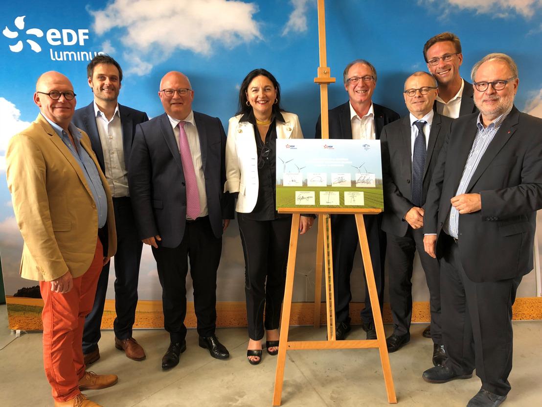 Oprichting van de tweede onderhoudsantenne ten dienste van de hernieuwbare energie-installaties in België