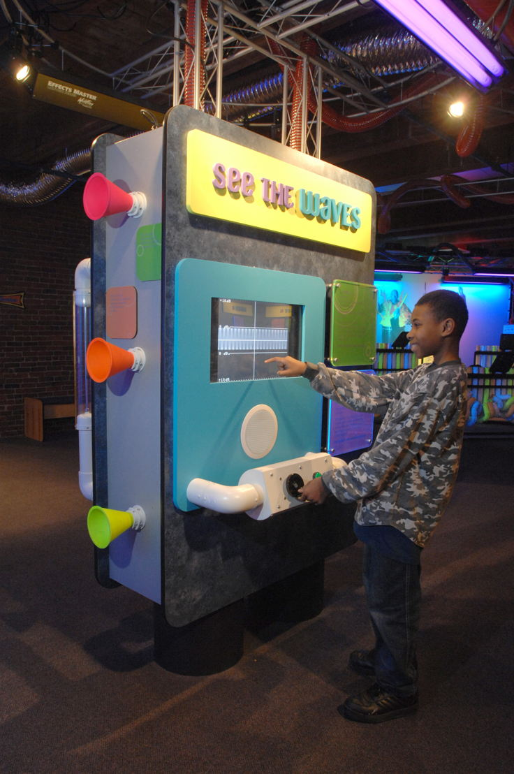 Blue Man Group - Making Waves (Photo Credit: Boston Children's Museum)
