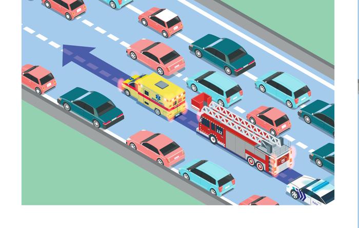 Code de la route : le couloir de secours entre en vigueur le 1er octobre !