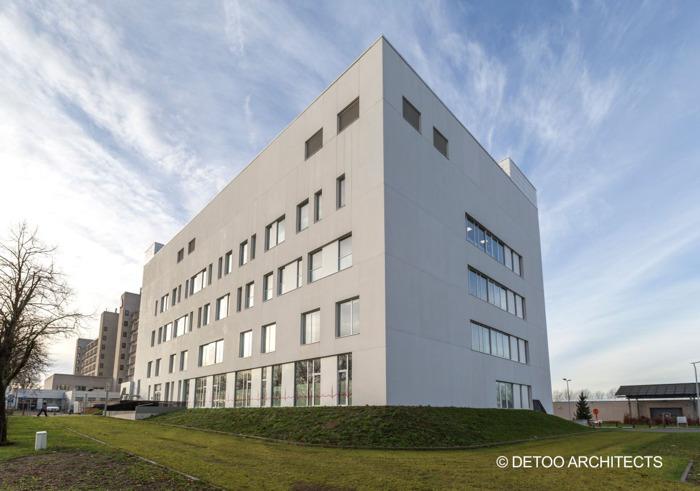 HVAC, vidéosurveillance et contrôle d'accès : Siemens équipe le nouveau bâtiment S de l'A.S.Z. à Alost