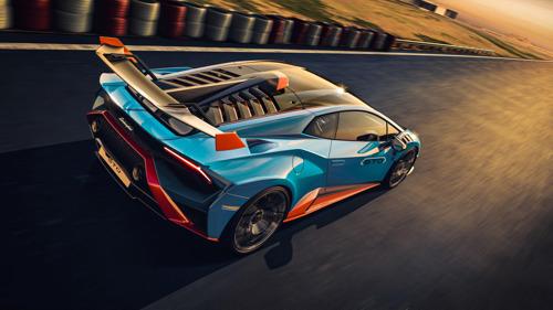 Lamborghini accélère